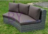 conjunto de mimbre al aire libre del sofá de la rota de la venta by-459 del jardín caliente de la manera