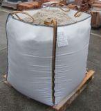 Un sacchetto enorme da 1 tonnellata con la fodera ed il becco di riempimento