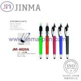Le stylo bille de barre de mise en valeur de promotion JM--6020A avec un contact d'aiguille