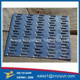 Placa pinchada del braguero del metal hecha del acero galvanizado