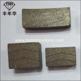 Le segment pour le meulage circulaire de découpage de diamant scie la lame (40*6*15mm)