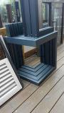 Twee Schuifdeuren van het Glas van Sporen Buiten (SD7150)