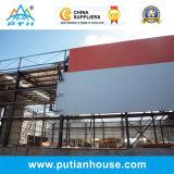 Entrepôt à plusiers étages de structure métallique de grande envergure de qualité de Pth Chine