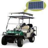 Sonnenkollektor-elektrische Karre EWG-Karren-Dienstauto im Golfplatz