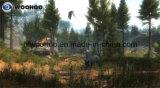 Campo da giuoco dell'interno la macchina del gioco della fucilazione di alleanza del cacciatore (due giocatori)