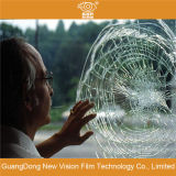 Película protectora del coche antiexplosión transparente y de la ventana de cristal del edificio