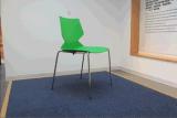 빠른 판매 현대 디자인 스테인리스 다방 의자
