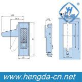 Fechamento elétrico da trava do painel do armário do fechamento do plano de combinação do metal Yh9591