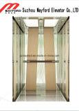 Лифт пассажира торгового центра с нержавеющей сталью вытравливания зеркала