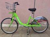 Vélo en acier Bicyclette-Inoxidable public de tableau de bord