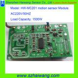 Deteção nova Hw-Mc201 do detetor do módulo do sensor de movimento da micrôonda de AC220V 1500W