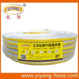 Tuyau renforcé en fibre de tresse transparente en PVC