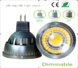 Bulbo do diodo emissor de luz da ESPIGA de Dimmable 3W MR16 do Ce e dos rós