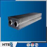 Economizzatore del tubo alettato del acciaio al carbonio dello scambiatore di calore H per la caldaia industriale