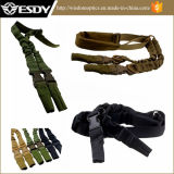 Tactical 2 Point Rifle Sling Stealth Bungee Gun Strap Belt