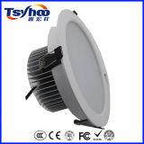 실내 T-1 시리즈 알루미늄 바디에 의하여 중단되는 SMD LED Downlight