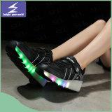 多彩な変更を用いるオリンピックのスポーツの靴LEDライト