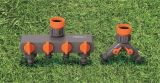 Arma de aerosol de cobre amarillo ajustable resistente de agua del rociador del jardín