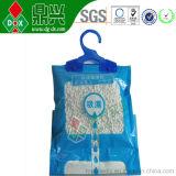 Freies Beispielhängende Garderoben-Kalziumchlorid-Trockenmittel-Beutel