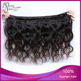 Cheveux humains 100% d'onde de corps de cheveu de Vierge des prix de Wholsale