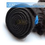 編む毛ブラジルの巻き毛の人間の毛髪