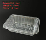 Fruit 또는 Vegetable (Plastic Tray)를 위한 명확한 Plastic PET Packing Box