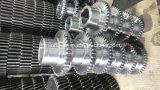 Engrenagem de aço fazendo à máquina da roda do CNC