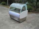 Italienische Eiscreme Gelato Popsicle-Bildschirmanzeige-Erscheinen-Fall-/Cabinet/-Gefriermaschinen