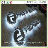 Painel de acrílico de sinal de LED de acrílico