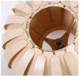 Belle lumière en bois antique de pendant du lustre DEL
