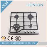 Hob газа высокого качества Built-in с алюминиевыми горелками HS4506
