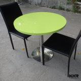 セットされる4 Seaterの現代人工的な石造りのレストランのダイニングテーブル(61020)