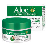 Aloés Vera &&#160 branco do cuidado de pele do zelo; Creme facial 50ml do dia de Mositurizing