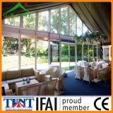 Baldacchino esterno 15m della tenda del grande giardino trasparente di Chapiteau