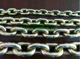 Сталь высокого качества G80 сваренная вокруг поднимаясь цепи