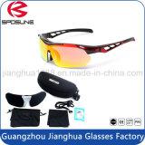 Сделано в Китае подгонял собственный мотоцикл Bike тавра участвуя в гонке объектив сбор винограда солнечных очков Анти--UV поляризовыванный при 5 заменимых объективов резвясь Eyewear