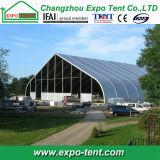 Hotsell feuerbeständige Ausstellung gebogene Zelte