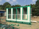 Casa del bajo costo de la alta calidad/tocador móviles prefabricados/prefabricados en la calle
