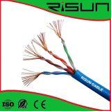 câble de 4pr U/UTP Cat5e (échoué) avec le meilleur prix, boitier d'accès de 1000 pi