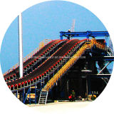 Sea PortまたはHarborのための大きいInclination Belt Conveyor/Conveyor System