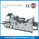 Machine de raccordement de fenêtre de boîte du carton Ktc-1020
