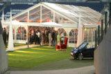 Tienda barata grande blanca impermeable al aire libre del partido de la carpa de la boda