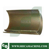 Haltbare industrielle Plastikzerkleinerungsmaschine mit der Kapazität 300-400kg/Hr