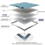 高品質の超細い天井表面によって取付けられるLEDの軽いパネル