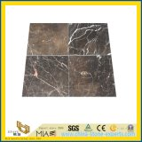 Flooring Decorationのための白いWooden Grained Marble Tile