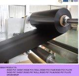 Feuille noire rigide de PVC de Matt pour des remplissages de PVC de tour de Colling