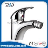 Single de bronze Lever Exposed Kitchen Faucet com Swivel Spout