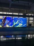 보장 3 년을%s 가진 실내 풀 컬러 LED 영상 벽 전시