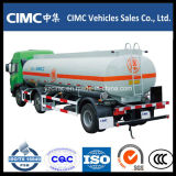 Carro del depósito de gasolina del transporte del petróleo de Sinotruk HOWO