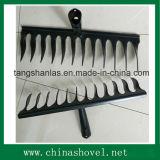 Tête en acier de râteau de torsion pour cultiver le jardinage